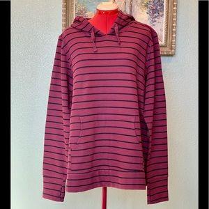 Motherhood nursing burgundy pullover in a size XL